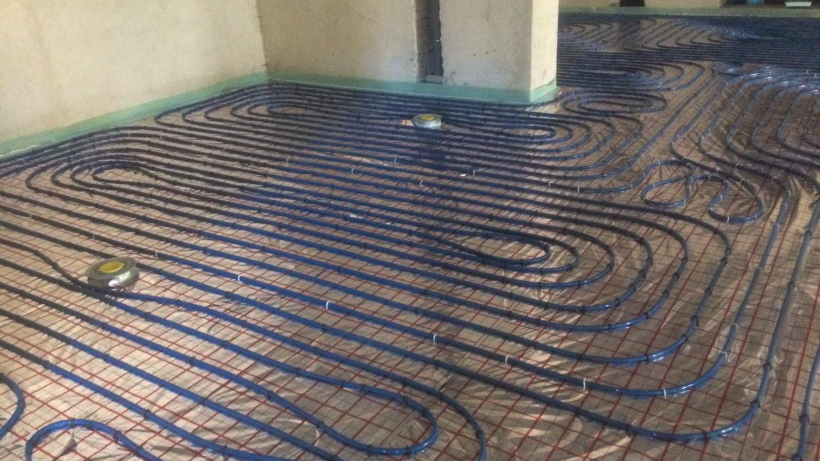 Монтаж теплої підлоги в Івано-Франківську. Види та переваги встановлення теплої підлоги